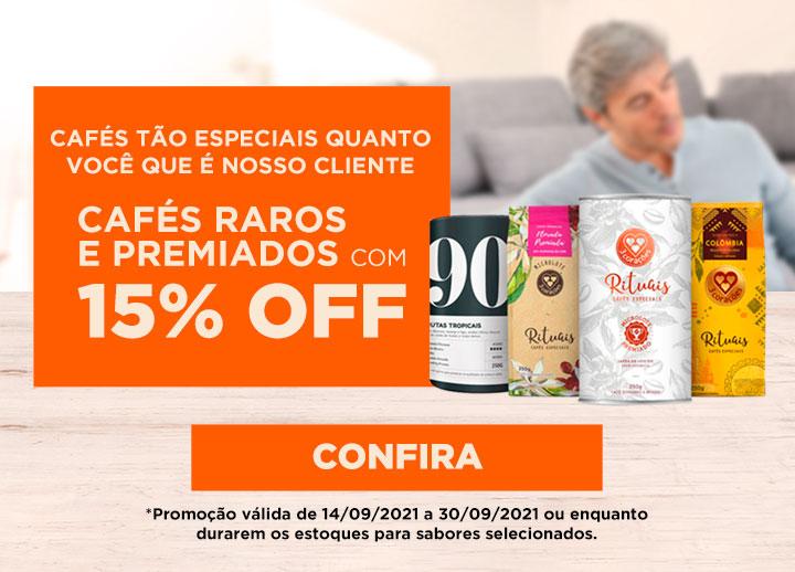 Mês do Cliente - Raros e Premiados 15% OFF