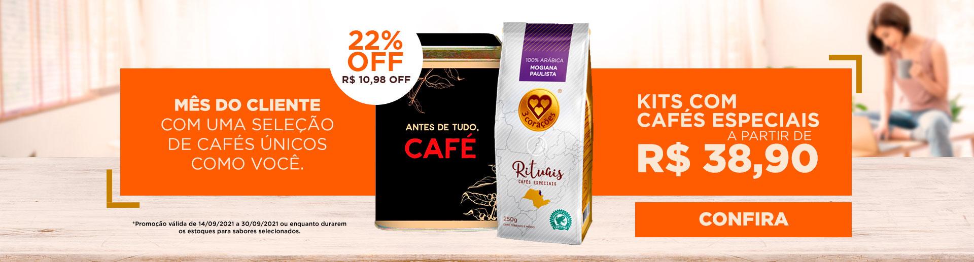 Semana do Brasil - Cafés Rituais 20% OFF